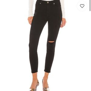 Pistola Skinny Ripped Jeans Ankle High Rise 30